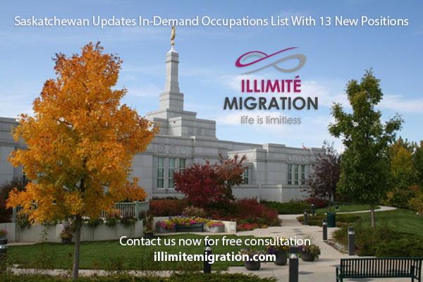 Canadian Immigration Saskatchewan Nominee Program Updates